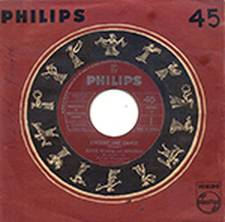 Esther & Abi Ofarim - Encore une danse - Single Philips X-A40020, Canada, 1963